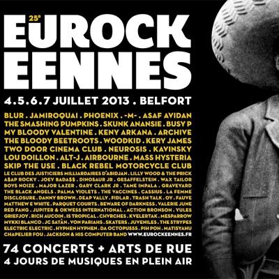 EUROCKEENNES DE BELFORT 2013