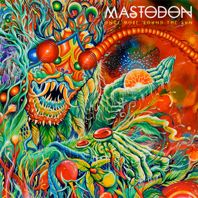 MASTODON POCHETTE NOUVEL ALBUM ONCE MORE 'ROUND THE SUN