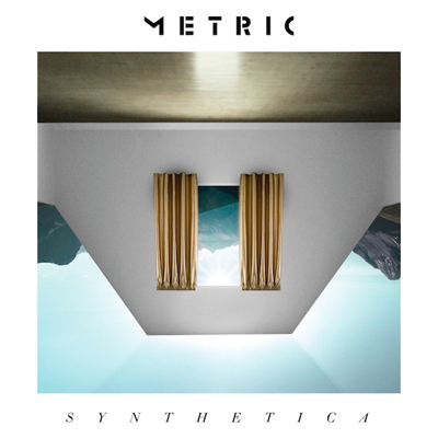 METRIC POCHETTE ALBUM SYNTHETICA