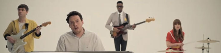 METRONOMY DEVOILE LA VIDEO DU SINGLE THE LOOK