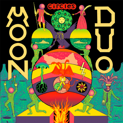 MOON DUO POCHETTE NOUVEL ALBUM CIRCLES