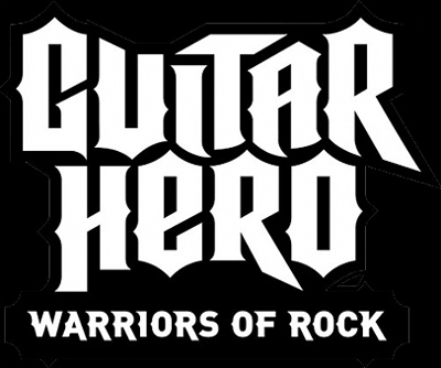 LOGO GUITAR HERO: WARRIORS OF ROCK