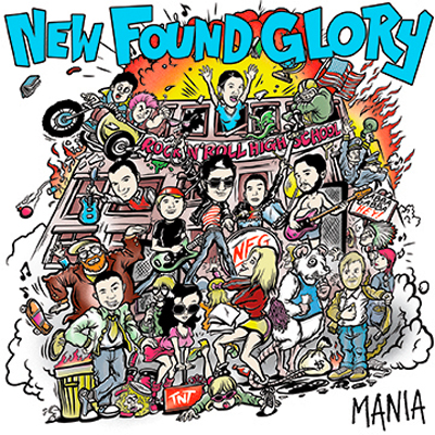 NEW FOUND GLORY POCHETTE EP MANIA