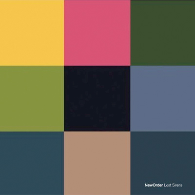 NEW ORDER POCHETTE MINI-ALBUM LOST SIRENS
