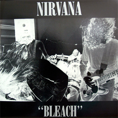 NIRVANA POCHETTE ALBUM BLEACH