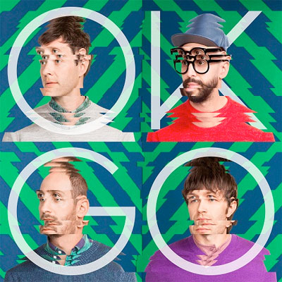 OK GO : POCHETTE NOUVEL ALBUM HUNGRY GHOSTS