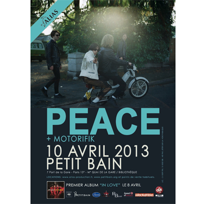 PEACE LIVE LES INROCKS 2012
