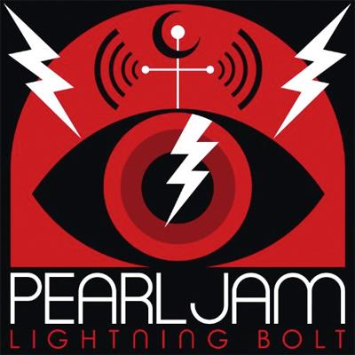 PEARL JAM POCHETTE NOUVEL ALBUM LIGHTNING BOLT