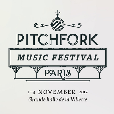 AFFICHE PITCHFORK MUSIC FESTIVAL PARIS 2012