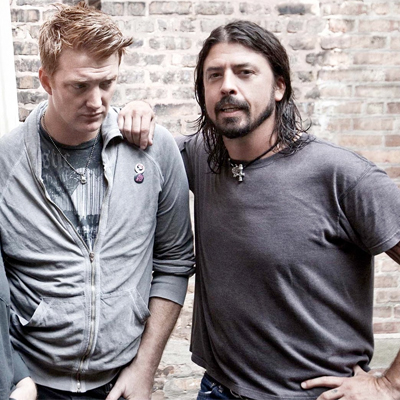DAVE GROHL ET JOSH HOME