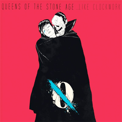 QUEENS OF THE STONE AGE POCHETTE NOUVEL ALBUM ...LIKE CLOCKWORK