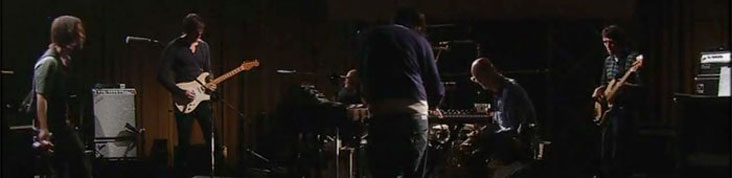RADIOHEAD : LA VIDEO INTEGRALE DE THE KING OF LIMBS - LIVE FROM THE BASEMENT