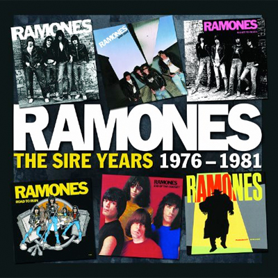 RAMONES COFFRET THE SIRE YEARS