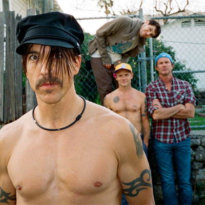 GROUPE RED HOT CHILI PEPPERS