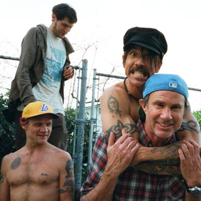 RED HOT CHILI PEPPERS GROUPE