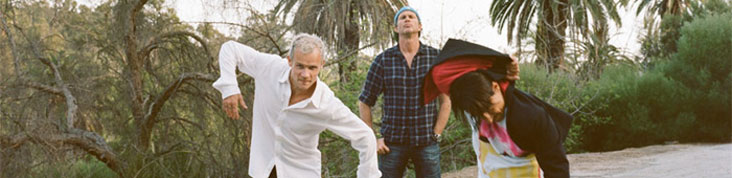 LES RED HOT CHILI PEPPERS EN CONCERT A BERCY EN OCTOBRE 2011