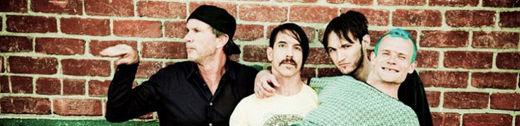 LES RED HOT CHILI PEPPERS EN CONCERT AU STADE DE FRANCE EN JUIN 2012