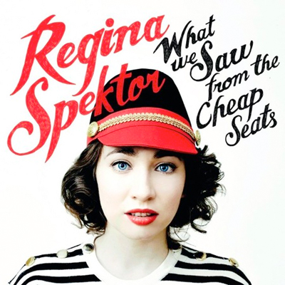 REGINA SPEKTOR POCHETTE WHAT WE SAW FROM THE CHEAP SEATS