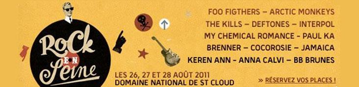ROCK EN SEINE 2011 : THE VACCINES, MILES KANE, THE WOMBATS COMPLETENT LA PROGRAMMATION