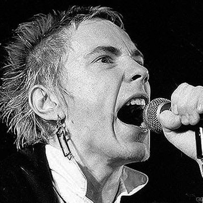 JOHN LYDON JOHNNY ROTTEN PORTRAIT