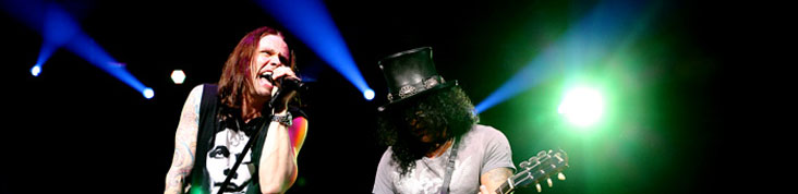 SLASH  @ LE ZNITH 2012