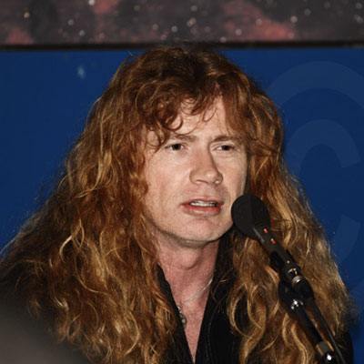 SONISPHERE FRANCE : DAVE MUSTAINE