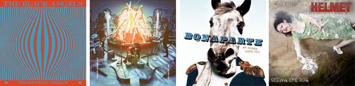 THE BLACK ANGELS, MIDNIGHT JUGGERNAUTS, BONAPARTE... : LES ALBUMS DE LA SEMAINE DU 20 SEPTEMBRE 2010