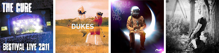 THE CURE, THE DUKES, ANGELS & AIRWAVES, EINKAUFEN... : LES SORTIES DE LA SEMAINE DU 5 DECEMBRE 2011