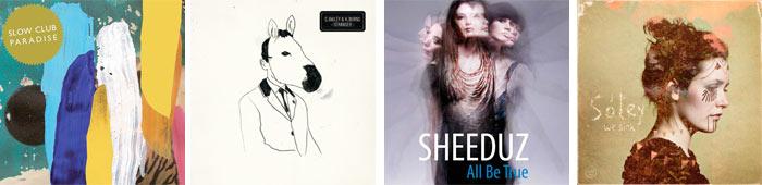 SLOW CLUB, CHRIS BAILEY & H-BURNS, SHEEDUZ, SOLEY... : LES SORTIES DE LA SEMAINE DU 12 SEPTEMBRE 2011