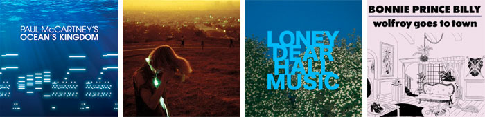 PAUL MCCARTNEY, NEON INDIAN, LONEY DEAR, BONNIE PRINCE BILLY... : LES SORTIES DE LA SEMAINE DU 10 OCTOBRE 2011