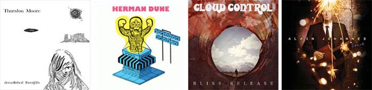 THURSTON MOORE, HERMAN DUNE, CLOUD CONTROL… : LES SORTIES DE LA SEMAINE DU 23 MAI 2011