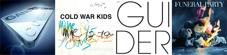 GANG OF FOUR, COLD WAR KIDS, DISAPPEARS... : LES SORTIES DE LA SEMAINE DU 24 JANVIER 2011