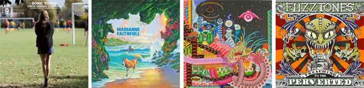 SONIC YOUTH, MARIANNE FAITHFULL, CHEVEU... : LES SORTIES DE LA SEMAINE DU 31 JANVIER 2011