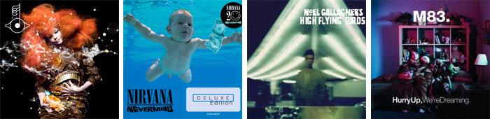 BJÖRK, NIRVANA, NOEL GALLAGHER, M83… : TOUS LES ALBUMS DE LA RENTREE