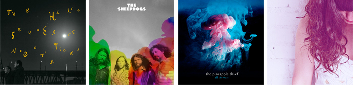 THE HELIO SEQUENCE, THE SHEEPDOGS, THE PINEAPPLE THIEF, SEAPONY... : LES SORTIES DE LA SEMAINE DU 1ER OCTOBRE 2012