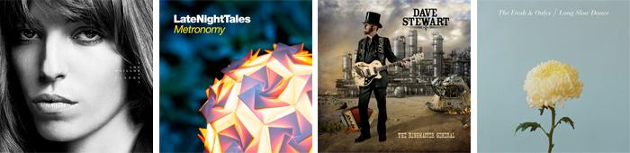 LOU DOILLON, METRONOMY, DAVE STEWART, THE FRESH & ONLYS... : LES SORTIES DE LA SEMAINE DU 3 SEPTEMBRE 2012