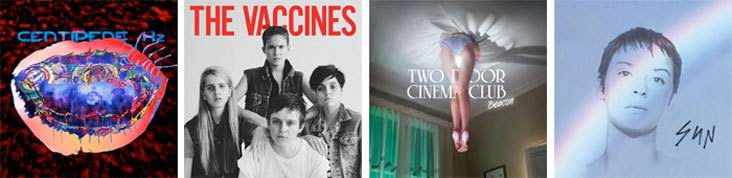ANIMAL COLLECTIVE, THE VACCINES, TWO DOOR CINEMA CLUB, CAT POWER... : LES SORTIES DE LA SEMAINE DU 3 SEPTEMBRE 2012