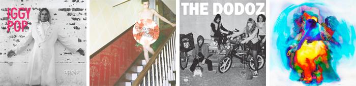 IGGY POP, CROCODILES, THE DODOZ, CLOCK OPERA... : LES SORTIES DE LA SEMAINE DU 4 JUIN 2012
