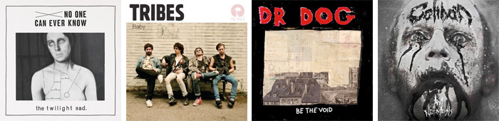 THE TWILIGHT SAD, TRIBES, DR. DOG, CALIBAN... : LES SORTIES DE LA SEMAINE DU 6 FEVRIER 2012