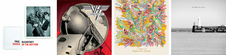 PAUL MCCARTNEY, VAN HALEN, OF MONTREAL, CLOUD NOTHINGS... : LES SORTIES DE LA SEMAINE DU 6 FEVRIER 2012