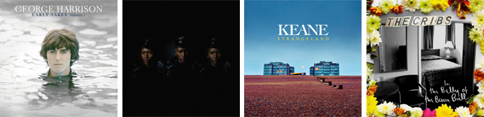 GEORGE HARRISON, LIGHT ASYLUM, KEANE, THE CRIBS... : LES SORTIES DE LA SEMAINE DU 7 MAI 2012