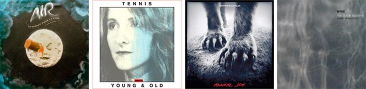 AIR, TENNIS, SHEARWATER, WIRE... : LES SORTIES DE LA SEMAINE DU 13 FEVRIER 2012