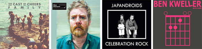 THE CAST OF CHEERS, GLEN HANSARD, JAPANDROID, BEN KWELLER... : LES SORTIES DE LA SEMAINE DU 18 JUIN 2012