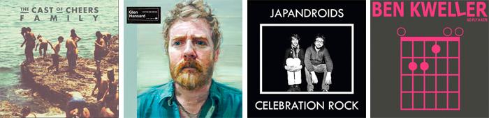 THE CAST OF CHEERS, GLEN HANSARD, JAPANDROID, BEN KWELLER... : LES SORTIES DE LA SEMAINE DU 18 JUIN 2012