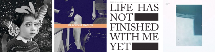TEAM ME, BLACKOUT BABIES, PIANO MAGIC, LEMONADE... : LES SORTIES DE LA SEMAINE DU 18 JUIN 2012