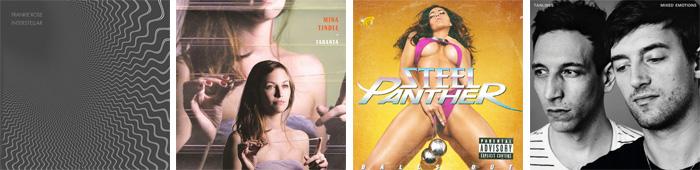 FRANKIE ROSE, MINA TINDLE, STEEL PANTHER, TANLINES... : LES SORTIES DE LA SEMAINE DU 19 MARS 2012