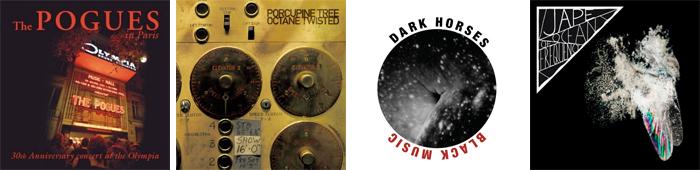 THE POGUES, PORCUPINE TREE, DARK HORSES, JAPE... : LES SORTIES DE LA SEMAINE DU 19 NOVEMBRE 2012