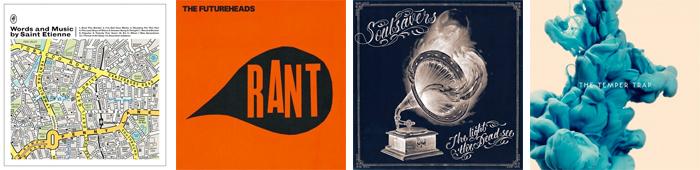 SAINT ETIENNE, THE FUTUREHEADS, SOULSAVERS, THE TEMPER TRAP... : LES SORTIES DE LA SEMAINE DU 21 MAI 2012