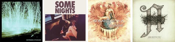 EXITMUSIC, FUN, SONATA ARCTICA, ARCHITECTS... : LES SORTIES DE LA SEMAINE DU 21 MAI 2012