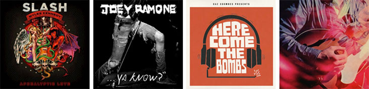 SLASH, JOEY RAMONE, GAZ COOMBES, CHROMATICS... : LES SORTIES DE LA SEMAINE DU 21 MAI 2012